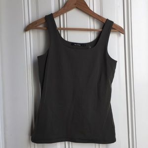 NIC+ZOE Olive Green Tank Top